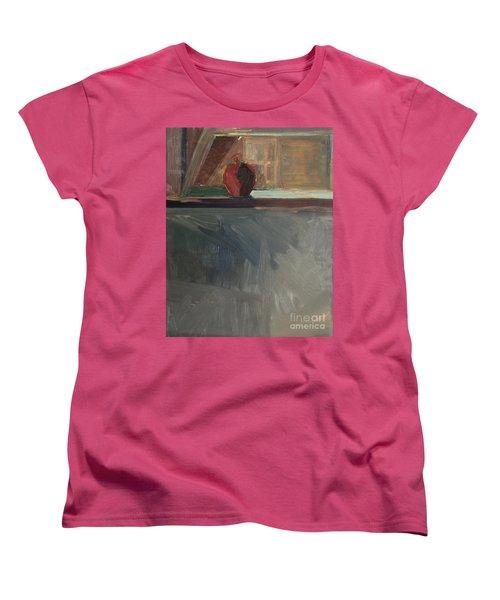 Apple On A Sill Women's T-Shirt (Standard Cut)