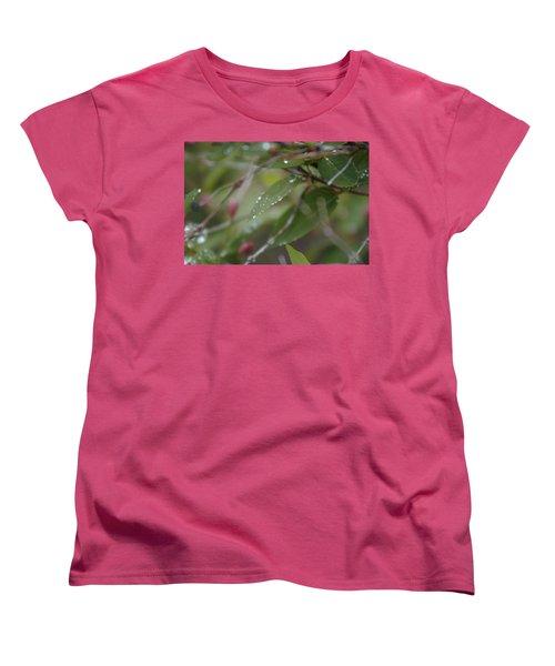 April Showers 1 Women's T-Shirt (Standard Cut) by Antonio Romero
