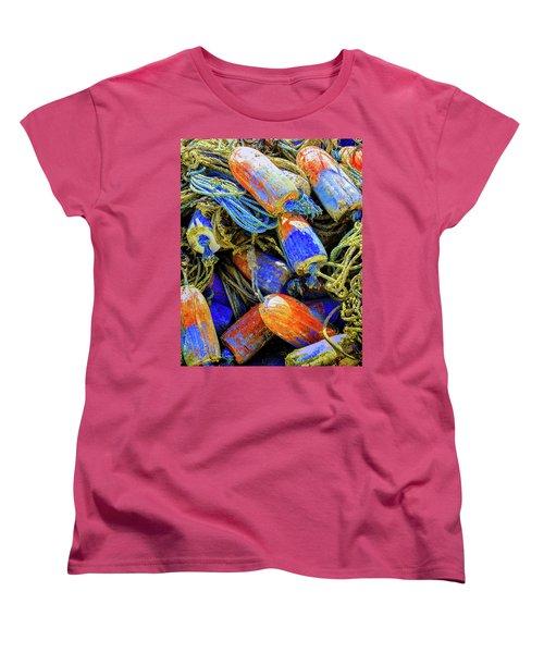 Aqua Hedionda Women's T-Shirt (Standard Cut) by Jeffrey Jensen