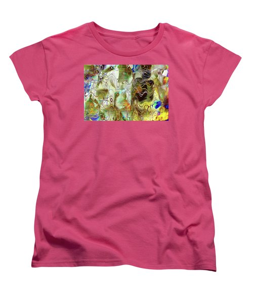 Arbitrary Color Opticality Women's T-Shirt (Standard Cut) by Don Gradner