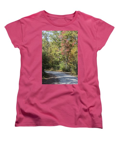 Around The Bend Women's T-Shirt (Standard Cut) by Ricky Dean