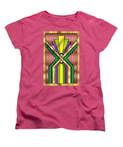 Art Deco 14 B Transparent Women's T-Shirt (Standard Cut) by Chuck Staley