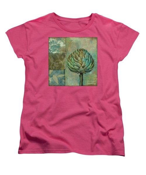 Artichoke Margaux Women's T-Shirt (Standard Cut) by Mindy Sommers