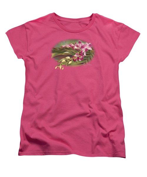 Dendrobium Orchids Women's T-Shirt (Standard Cut)