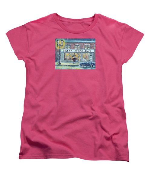 Griff Valentines' Birthday Women's T-Shirt (Standard Cut) by Rita Brown