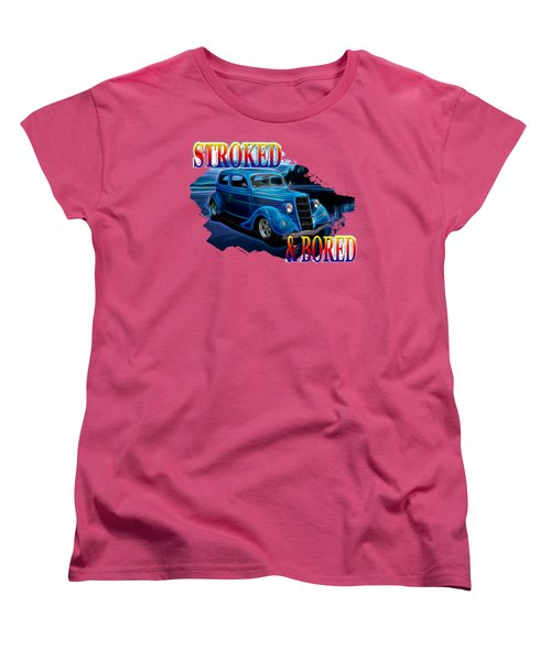 1935 Ford 2-door Sedan Women's T-Shirt (Standard Cut) by Richard Farrington