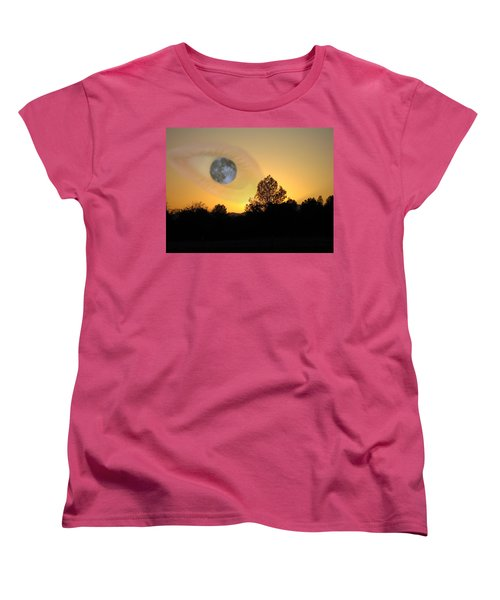 Women's T-Shirt (Standard Cut) featuring the photograph As I See It by Joyce Dickens