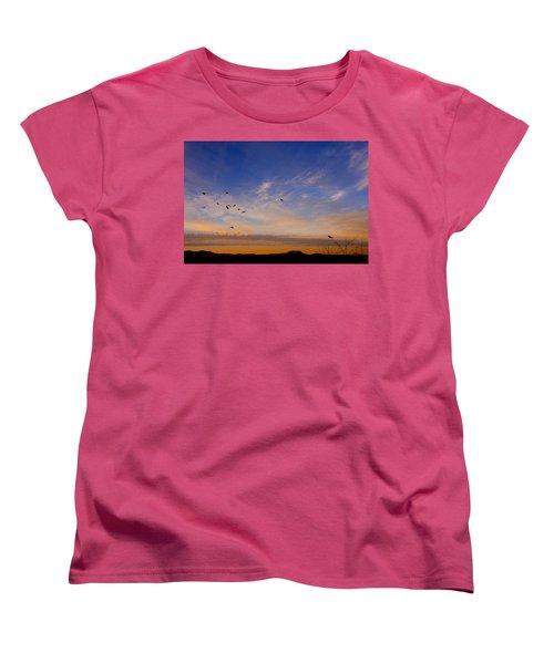 As Night Falls Women's T-Shirt (Standard Cut)