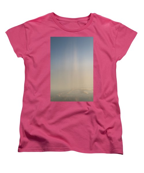 Women's T-Shirt (Standard Cut) featuring the photograph Atlantic Sunrise 2 by Kevin Blackburn