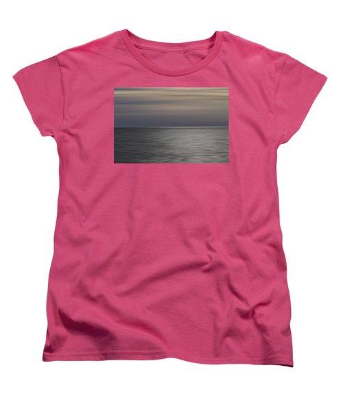Women's T-Shirt (Standard Cut) featuring the photograph Atlantic Sunrise  by Kevin Blackburn