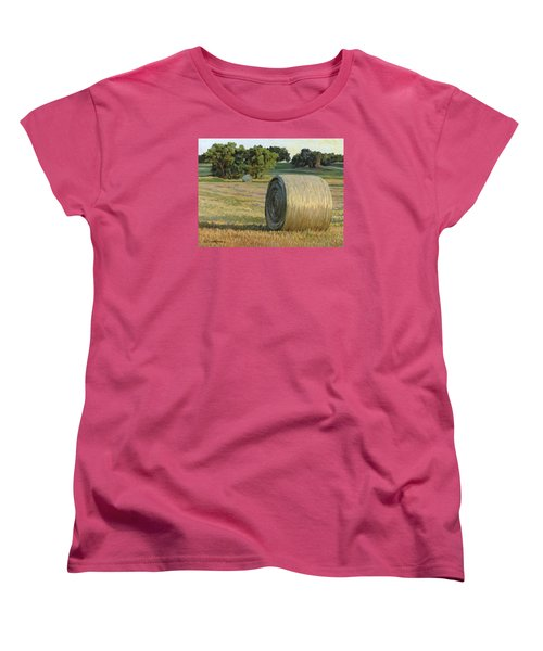 August Bales Women's T-Shirt (Standard Cut) by Bruce Morrison