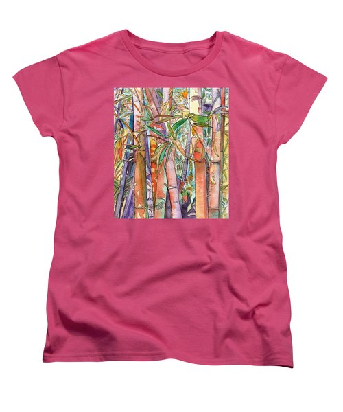 Autumn Bamboo Women's T-Shirt (Standard Cut)