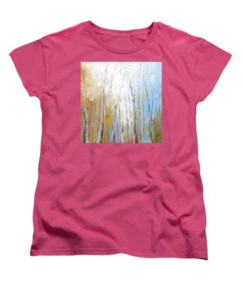 Autumn Bliss Women's T-Shirt (Standard Cut) by Dina Dargo