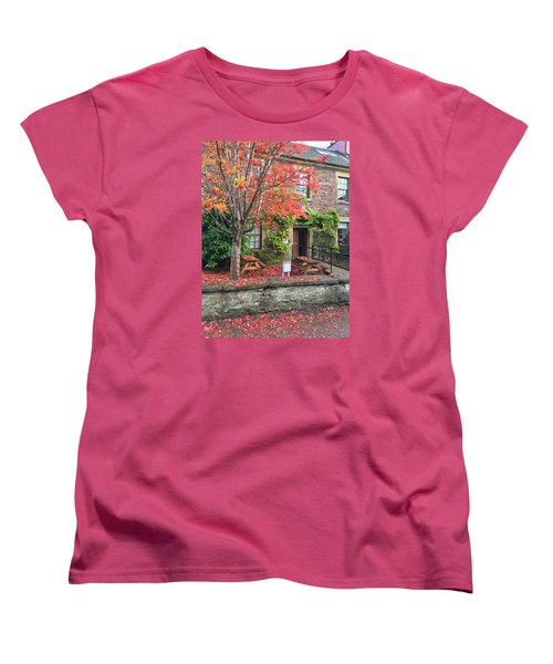 Autumn In Dunblane Women's T-Shirt (Standard Cut) by RKAB Works