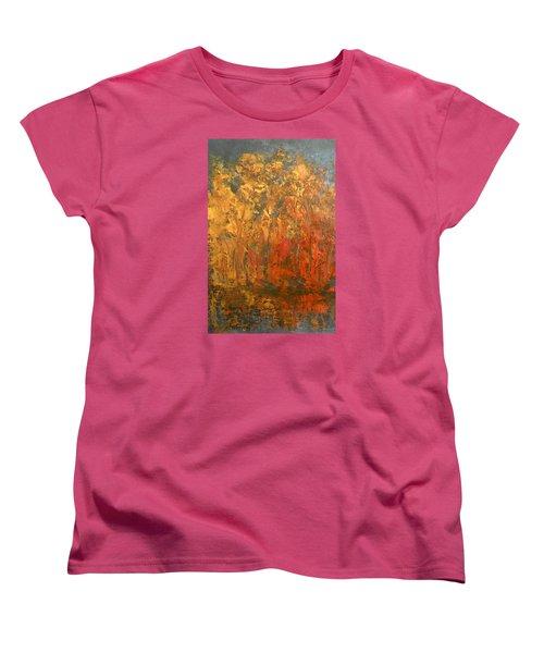 Autumn Reflections 1 Women's T-Shirt (Standard Cut) by Jane See