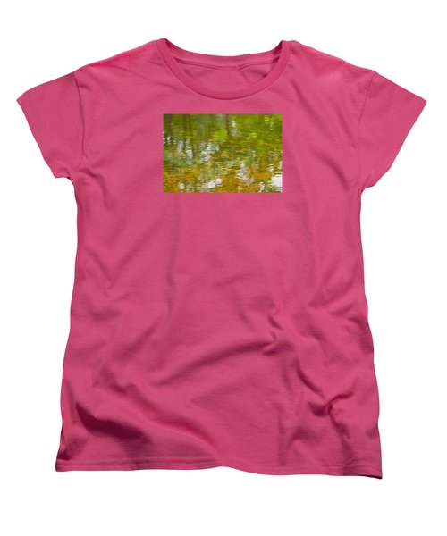 Autumn Reflections Women's T-Shirt (Standard Cut) by Wanda Krack