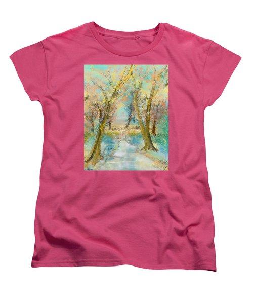Autumn Sketch Women's T-Shirt (Standard Cut)