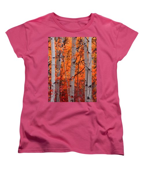 Autumn Splendor Women's T-Shirt (Standard Cut)