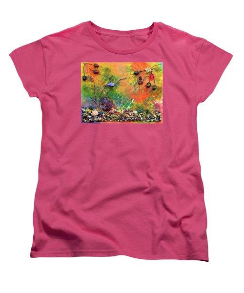 Autumnal Enchantment Women's T-Shirt (Standard Cut) by Donna Blackhall