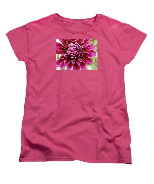 Awesome Dahlia Women's T-Shirt (Standard Cut) by VLee Watson