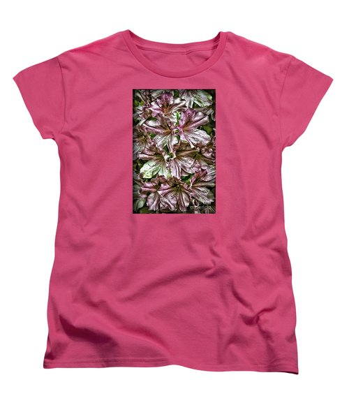 Azaleas Women's T-Shirt (Standard Cut) by Walt Foegelle