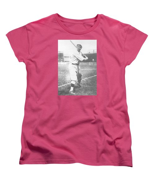 Babe Ruth Women's T-Shirt (Standard Cut) by American School