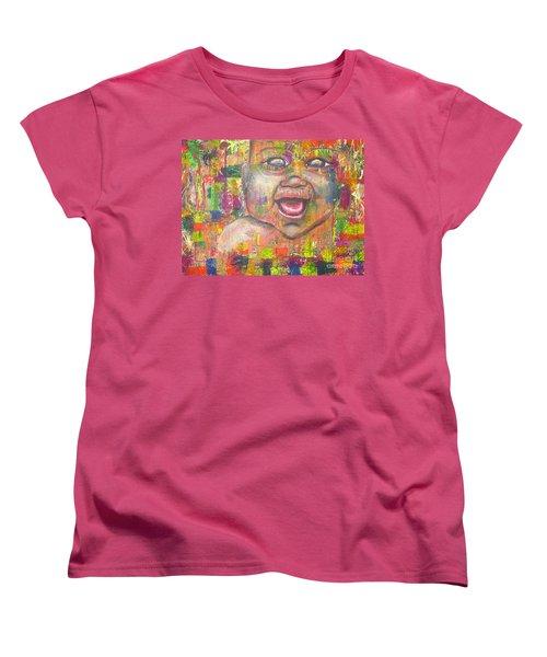 Baby - 1 Women's T-Shirt (Standard Cut) by Jacqueline Athmann