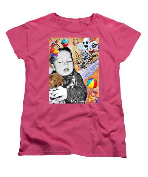 Baby Dreams Women's T-Shirt (Standard Cut) by Vennie Kocsis