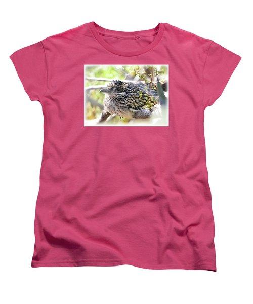 Baby Roadrunner  Women's T-Shirt (Standard Cut) by Saija Lehtonen