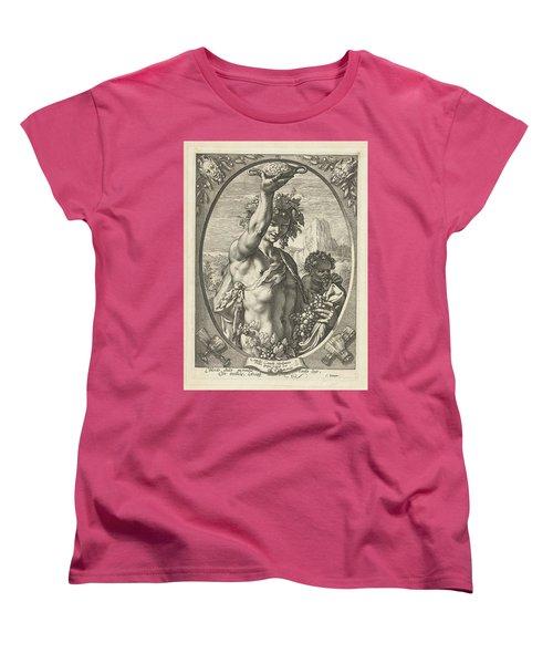 Bacchus God Of Ectasy Women's T-Shirt (Standard Cut) by R Muirhead Art