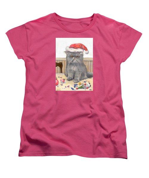 Bah Humbug Women's T-Shirt (Standard Cut) by Donna Tucker