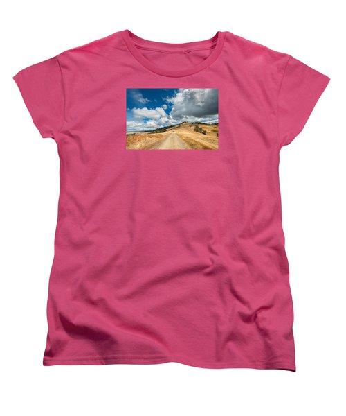 Ball Hills In Summer 3 Women's T-Shirt (Standard Cut) by Greg Nyquist