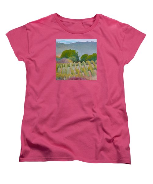 Barboursville Vineyards 1 Women's T-Shirt (Standard Cut) by Catherine Twomey