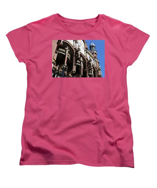 Women's T-Shirt (Standard Cut) featuring the photograph Barcelona 4 by Andrew Fare
