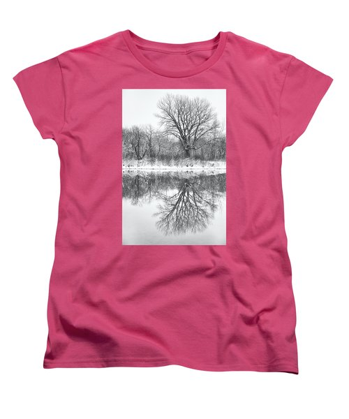 Women's T-Shirt (Standard Cut) featuring the photograph Bare Trees by Darren White