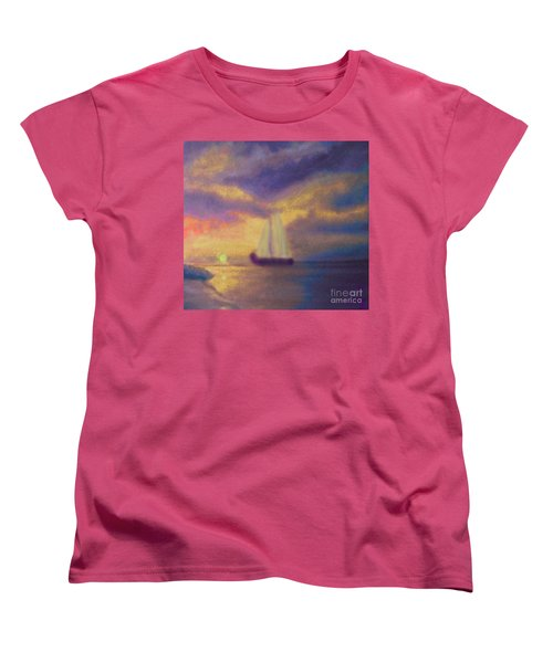 Basking In The Sun Women's T-Shirt (Standard Cut) by Holly Martinson