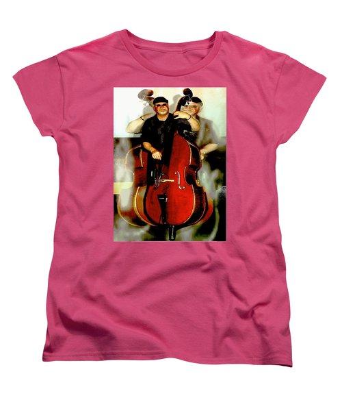 Bassman Women's T-Shirt (Standard Cut) by Sadie Reneau