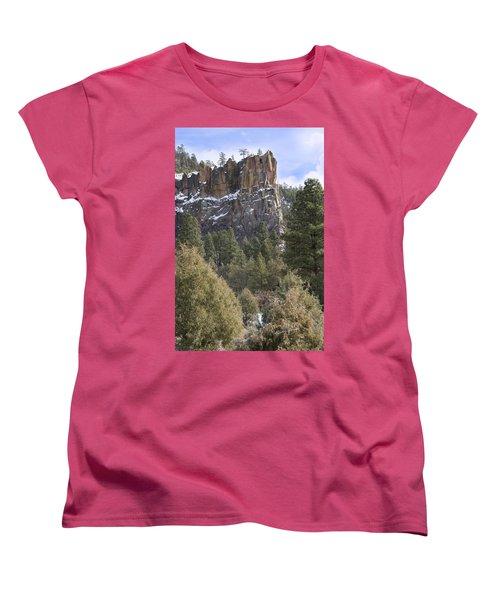 Battleship Rock Women's T-Shirt (Standard Cut) by Ricky Dean