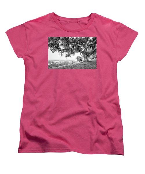 Bay Street Oak View Women's T-Shirt (Standard Cut)