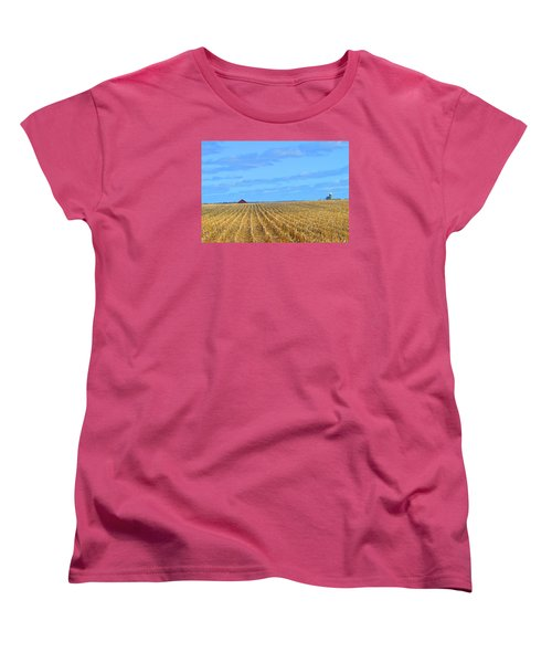Be Still And ... Women's T-Shirt (Standard Cut) by Tina M Wenger