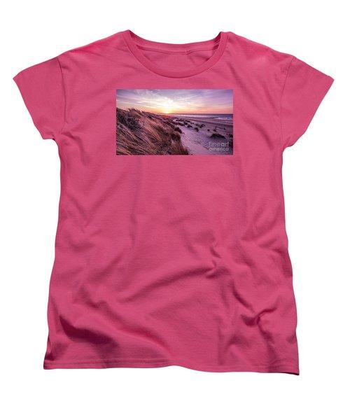 Beach Of Renesse Women's T-Shirt (Standard Cut) by Daniel Heine