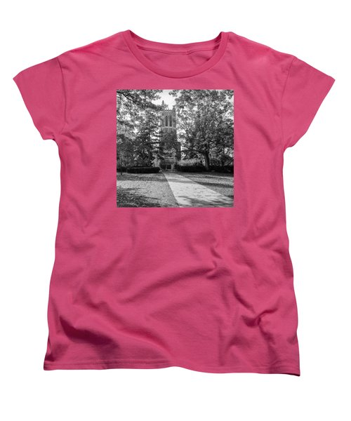 Women's T-Shirt (Standard Cut) featuring the photograph Beaumont Tower by Larry Carr