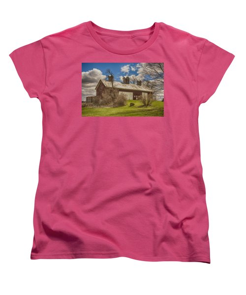 Beautiful Old Barn Women's T-Shirt (Standard Cut) by JRP Photography