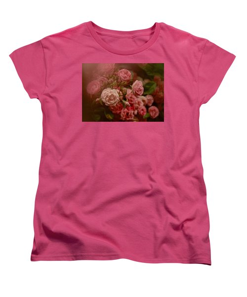 Beautiful Roses 2016 No. 2 Women's T-Shirt (Standard Cut) by Richard Cummings