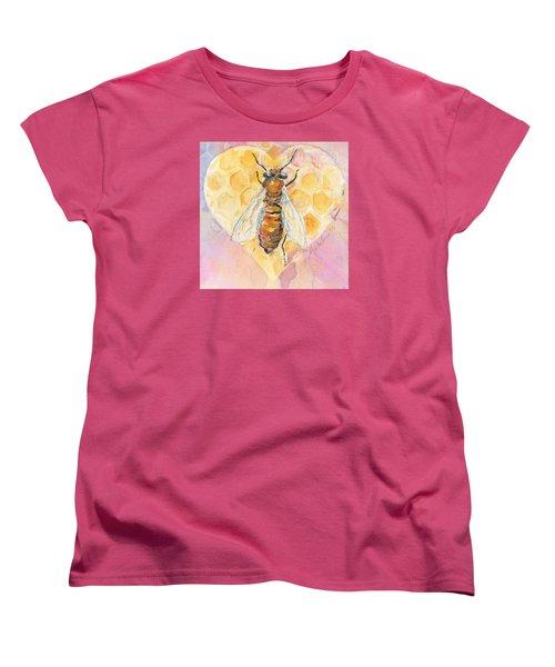 Bee Heart Women's T-Shirt (Standard Cut)