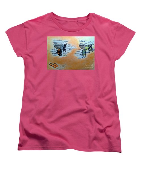 Bees  Women's T-Shirt (Standard Cut)