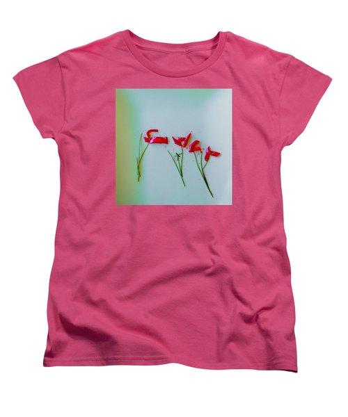 Beet The Blues Women's T-Shirt (Standard Cut) by Frank Bright