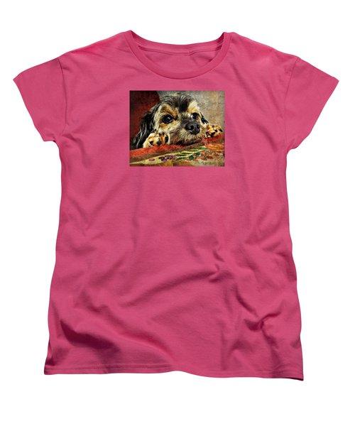 Bella's Thanksgiving Women's T-Shirt (Standard Cut) by Kathy M Krause