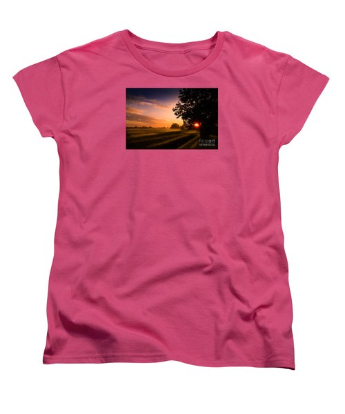 Beloved Land Women's T-Shirt (Standard Cut) by Franziskus Pfleghart