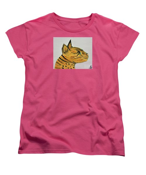 Bengal Cat  Women's T-Shirt (Standard Cut) by Mindy Bench
